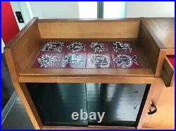 Enfilade GUILLERME et CHAMBRON sideboard buffet ceramique de DANIKOWSKI chene