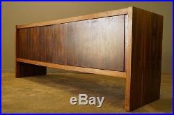 Enfilade Palissandre Vintage 1960 Loft Design Scandinave Moderniste Shabby Chic
