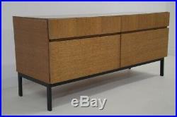 Enfilade commode meuble entrée télé vintage années 50 60 scandinave design teck