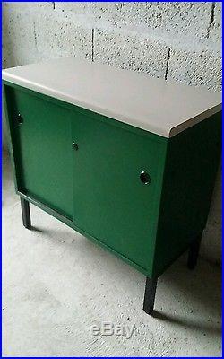 Enfilade commode meuble télé entrée vintage années 70 80 design