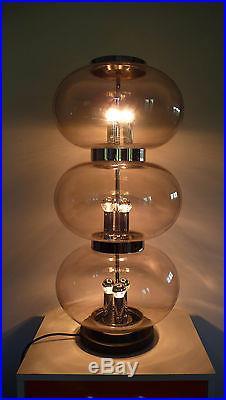 Enorme Lampe de Parquet Vintage An 60's 70's