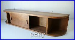 Etagere 2 Portes En Noyer Design Gout Le Corbusier Perriand Atelier Vintage 1950