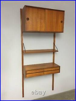 Etagère bibliothèque modulable Royal System par Poul Cadovius Danemark1950 /1960