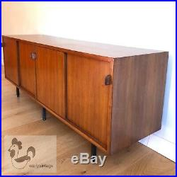 FLORENCE KNOLL enfilade 540 noyer vintage credenza cabinet mid century buffet