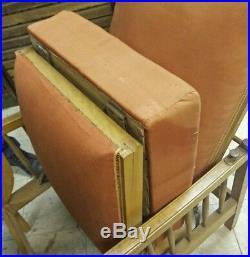 Fauteuil /Chaise longue Art déco vintage William Morris