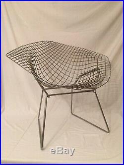 Fauteuil Diamond Harry Bertoia Knoll Design Vintage chair