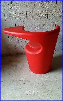 Fauteuil chaise vintage années 80 design Sottsass Memphis De Lucchi Comos