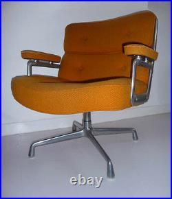 Fauteuil de Bureau' Lobby' de C. R. Eames pour Herman Miller Vintage An 70's