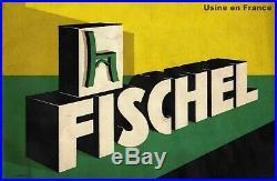 Fauteuil de bureau FISCHEL 1935, style bistrot (no Thonet)