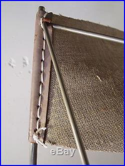 Fauteuil pierre paulin butterfly 675 original cuir blanc artifort 1963