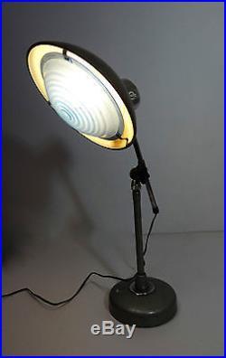 Ferdinand Solère Lampe de bureau 1955 vintage design lamp