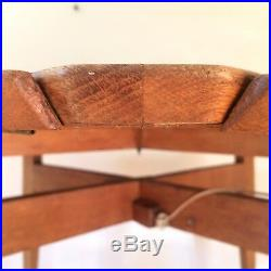 GASCOIN Marcel Table Bridge-Repas Marguerite FRENCH Design Vintage 1951
