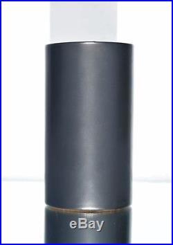 GEORGES JOUVE (1910-1964) Vase Rouleau dit Cylindrique Céramique émaillée Signé