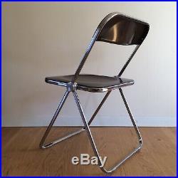 GIANCARLO PIRETTI ed CASTELLI Original PLIA folding chair Italy design 1970 BRUN