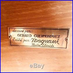 GUERMONPREZ / MAGNANI Enfilade MODERNISTE Midcentury CREDENZA 1960 Paulin Thonet