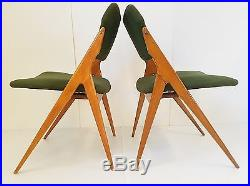 G. Guermonprez Edition Godfrid Paire De Chaises 1950 Vintage Design 50s Chairs
