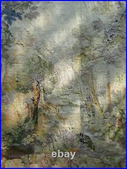 Grande Tapisserie Daubusson Verdure Fin18eme Siècle-début XIXème 2.90m x 2.8m
