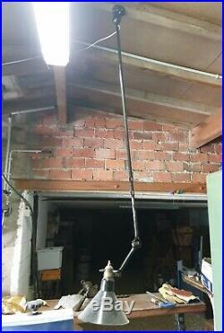 Grande lampe gras ravel d'atelier