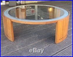 Grande table basse Art Deco moderniste de Jacques Adnet vers 1930 1940