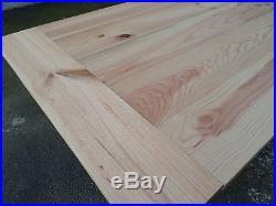 Grande table de repas de ferme d atelier fer et bois industrielle