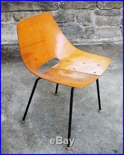Guariche chaise chair tonneau Steiner vintage