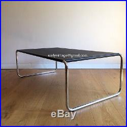 HABITAT VINTAGE Table Basse BAUHAUS Chrome POSTMODERN Design CONRAN cf Breuer