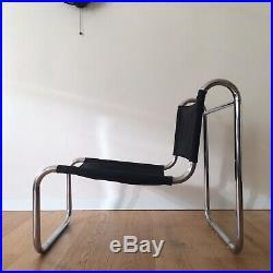 HAMON / PRISUNIC Lounge Chair Fauteuil Chauffeuse Vintage Design 1970 Bauhaus