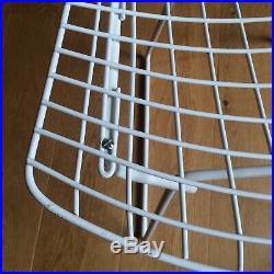 HARRY BERTOIA / KNOLL Int. Paire de Chaises Vintage Wire SIDE CHAIRS Design 1960
