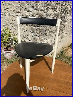 Hans Olsen Design Frem Rojle Made In Danmark Annees 70 Vintage Table Et Chaises