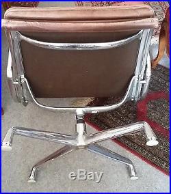 Herman Miller Charles Eames ANCIEN FAUTEUIL DE BUREAU DESIGN années 60 Vintage