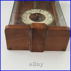 Horloge Pendule Électrique École Nationale Cluses Electric Clock E. N. H Cluses