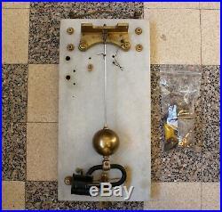 Horloge Pendule mère france Brillié Electrique Atelier Usine Électromagnétique