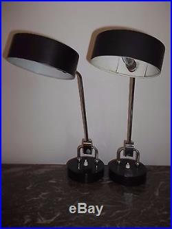 JUMO Paire De Lampe Chevet 1950 60 Vintage Atelier