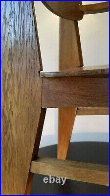 Jean prouvé chaise tout bois d'origine, authentique 1942