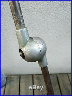 Jielde ancienne lampe, lampe industrielle, lampe d'atelier