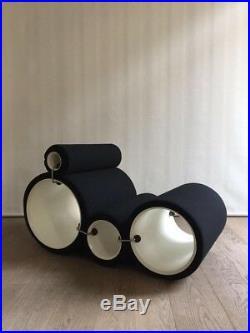 Joe Colombo Tube Chair 1970 -Édition Flexform