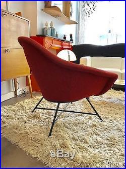 Joli Fauteuil De Geneviève Dangles Et Christian Defrance -1950-1960-design