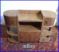 Joli petit meuble de rangement époque Art deco