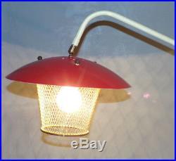 LAMPADAIRE VINTAGE TRIPODE DESIGN 50 ABAT JOUR MéTAL DLG GUARICHE