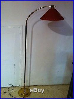 LAMPADAIRE Vintage lampe 1950 50's d'époque Lunel mathieu guariche biny design