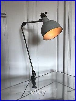 LAMPE GEORGES HOUILLON 1930 Jean Prouvé Atelier (Gras) Mid Century lamp