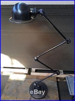 LAMPE JIELDE 4 BRAS Industriel D'atelier Gras Vintage Usine Loft Lamp Light