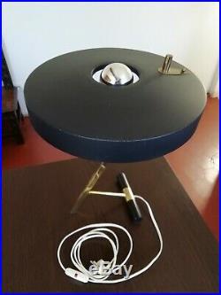 LAMPE Z vintage designer LOUIS KALFF pour PHILIPS 1955 De table ou de bureau