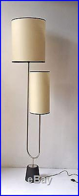 Lampadaire 1950 attribué a boris lacroix floor lamp 50' light
