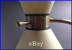 Lampadaire 1950 floor lamp mid century light 50s vintage arlus lunel monix