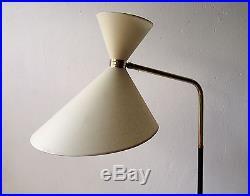 Lampadaire 1950 luminaire light lampe 50 floor lamp mid century stilnovo vintage