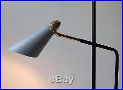 Lampadaire 1950 stilnovo floor lamp light luminaire vintage lampe mid century