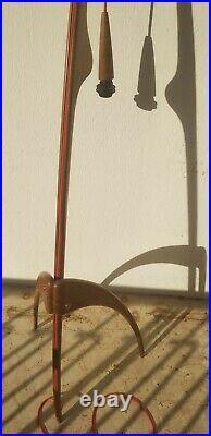 Lampadaire Rispal Lampe Vintage 1960 Mante Religieuse