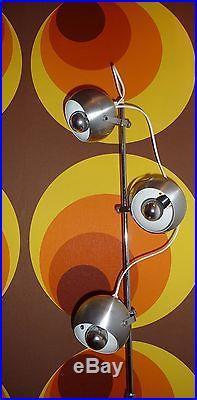 Lampadaire Vintage' EyE BaLL' des années 70