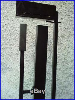 Lampadaire design 80 double balanciers contrepoids halogene floor lamp memphis